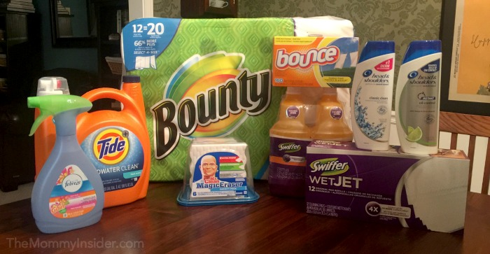 P&G Stock Up and Save Event at Walmart with a Gift Card Giveaway!