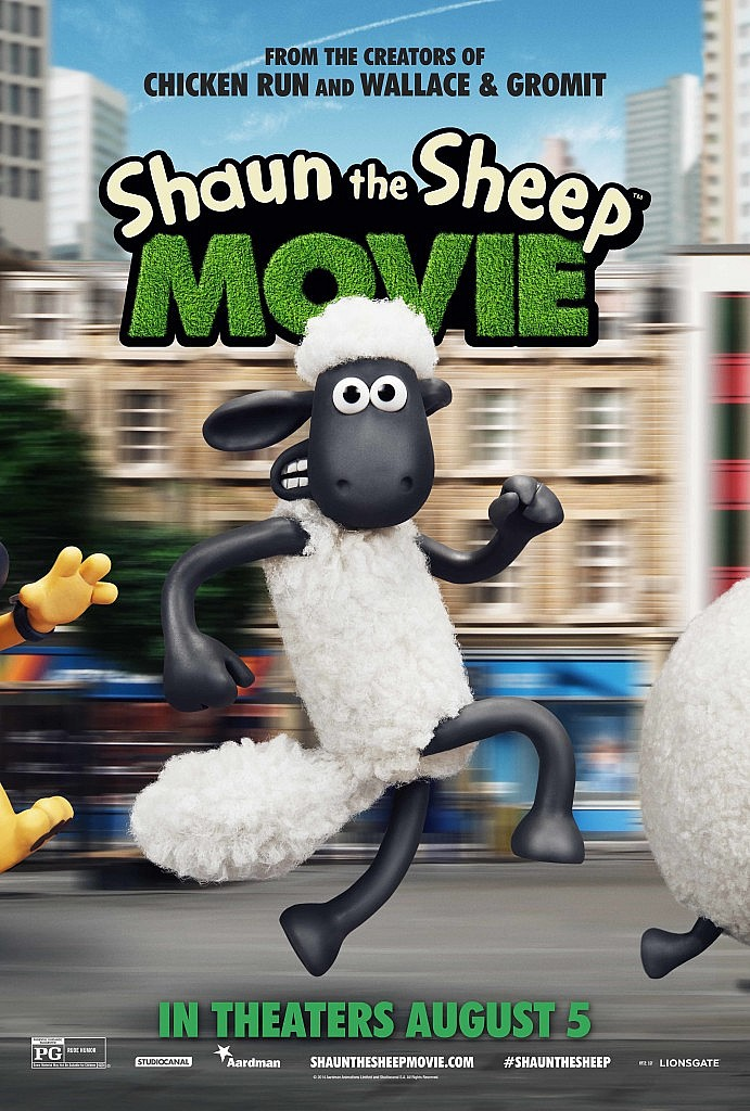 Post image for Shaun the Sheep Movie in Theaters August 5 | Enter to win a Shaun the Sheep Movie Prize Pack!
