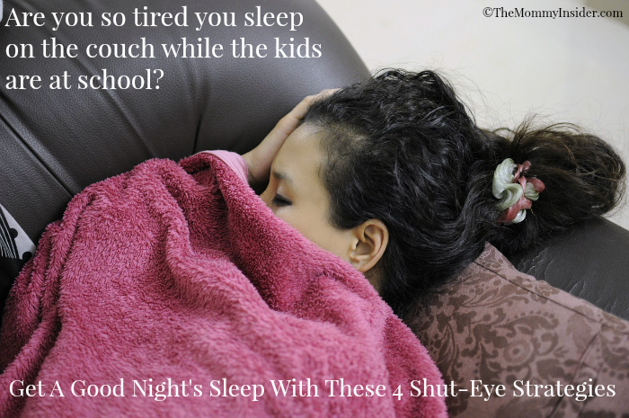Get A Good Night's Sleep With These 4 Shut-Eye Strategies