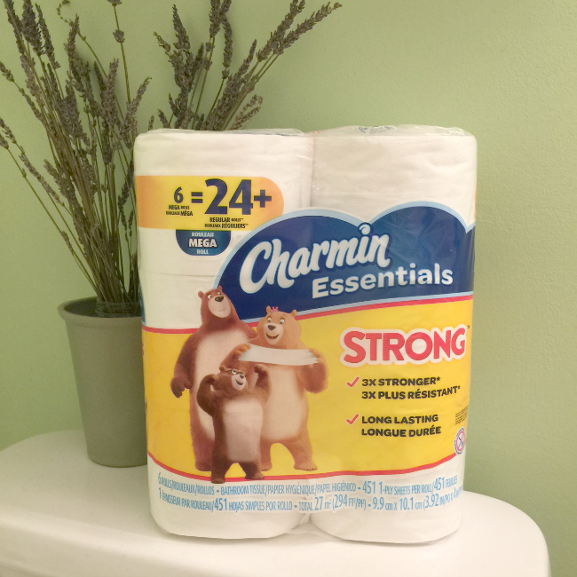 We Put Charmin® Essentials Strong To The Test